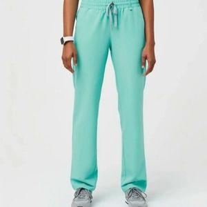 Figs Aqua Fresh Sewell XS Tall Scrub Pants